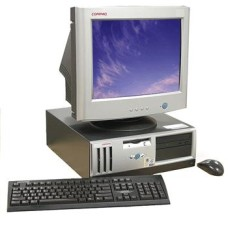 03CMP1009 - COMPAQ P3-800 192MB RAM 10GB HDD  WIN98