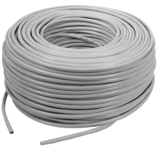 Datapro CAT6 UTP Grey Network Cable 100M SOLID on Reel CCA
